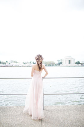 Top 10 locations for Engagement Photos. Tidal Basin Engagement Photoshoot in  Washington DC during Cherry Blossom season by Snowdrop Photography